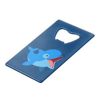 Cute Laughing Cartoon Dolphin