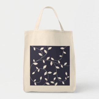 cute leaf ornament tote bag