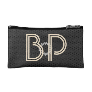 Cute Leather Look Add Initials Bag