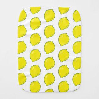Cute Lemon Burp Cloth