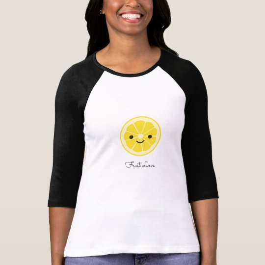 Cute Lemon Fruit Love T-Shirt