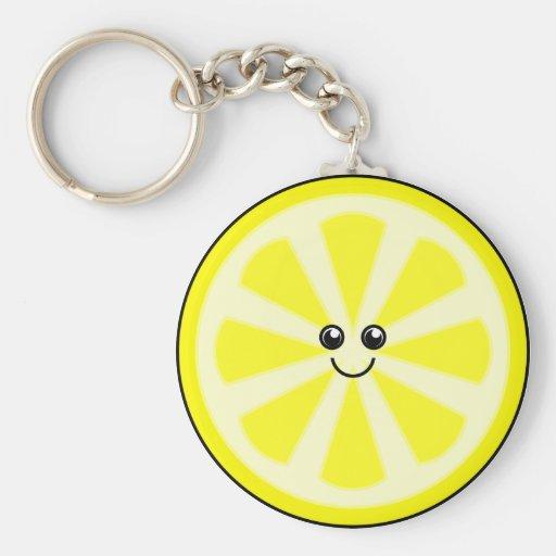 Cute Lemon Keychains