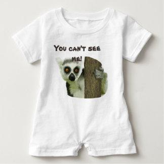 Cute Lemur Baby Romper Baby Bodysuit