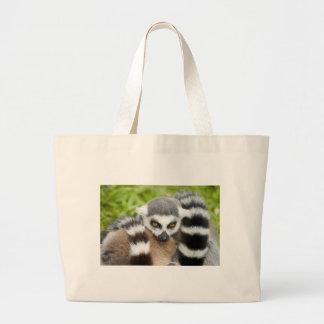 Cute Lemur Stripey Tail Bag