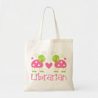 Cute Librarian Gift Tote Bag