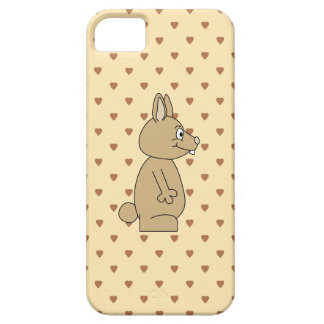 Cute Light Brown Rabbit. Case For The iPhone 5