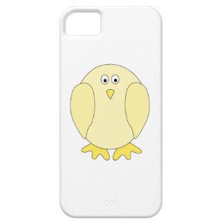 Cute Light Yellow Bird. Cartoon Chick. Case For The iPhone 5