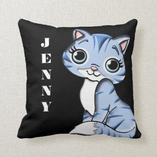 Cute Lil Kitty Reversible Cushion