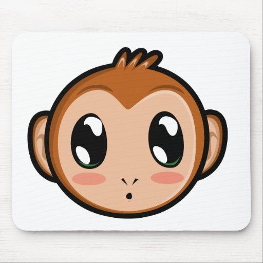 Cute Lil' Monkey Mousepad