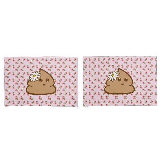 Cute Lil Poo Pillow Cases