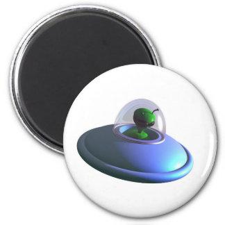 Cute Lil UFO Magnet