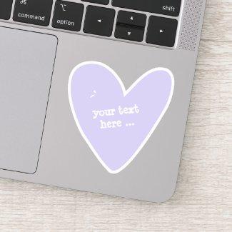 Cute Lilac Heart - Custom