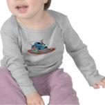 Cute Lilo & Stitch Stitch Sleeping T Shirts
