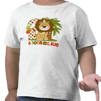Cute Lion 2nd Birthday Tshirts