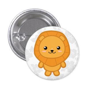 Cute Lion 3 Cm Round Badge