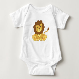 Cute Lion Baby Clothing Baby Bodysuit