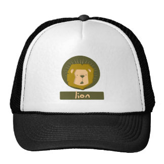 cute lion cap