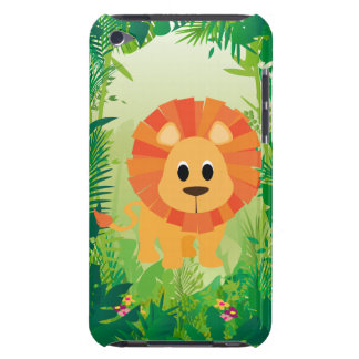 Cute Lion Barely There iPod Case