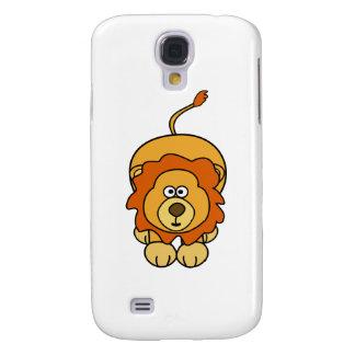 Cute Lion Design Galaxy S4 Case