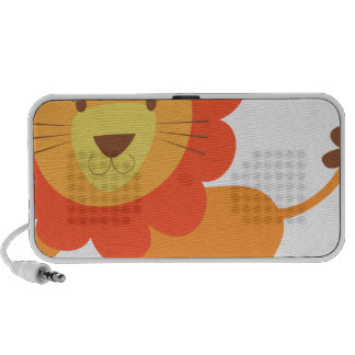 cute lion iPod speakers