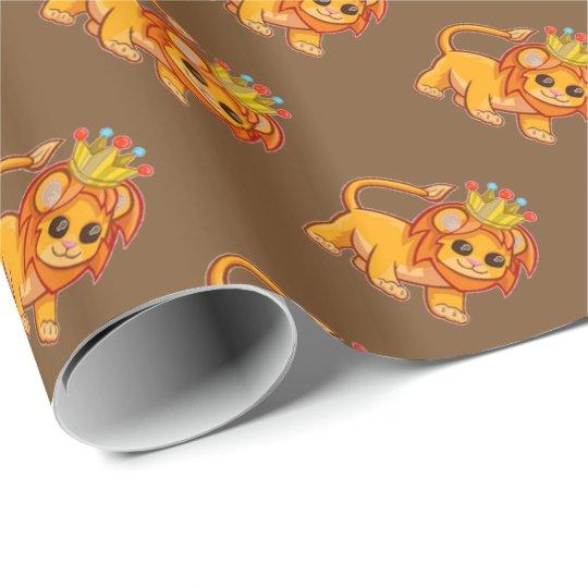 Cute Lion King Crown Jungle Animal Kids Gift