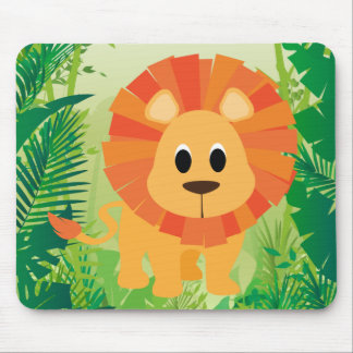 Cute Lion Mouse Mat