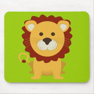 Cute Lion Mouse Pad