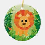 Cute Lion Ornaments