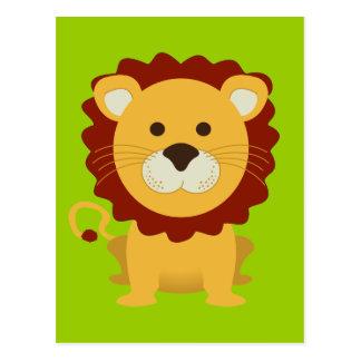 Cute Lion Postcards