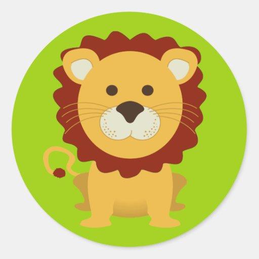 Cute Lion Sticker