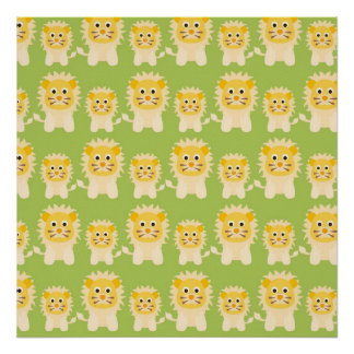 Cute Lions Posters