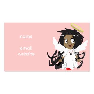 Cute Little Angel Girl Pack Of Standard Business Cards