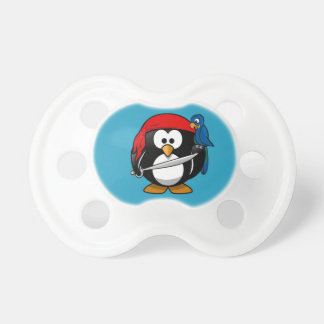 Cute little animated pirate penguin dummy