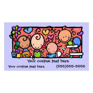 Cute Little Babies custom business card