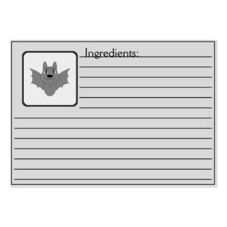 Cute Little Bat Business Card Template