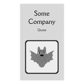 Cute Little Bat Business Card Templates