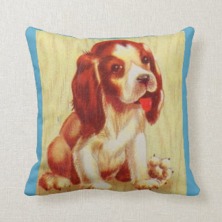cute little beagle puppy cushion