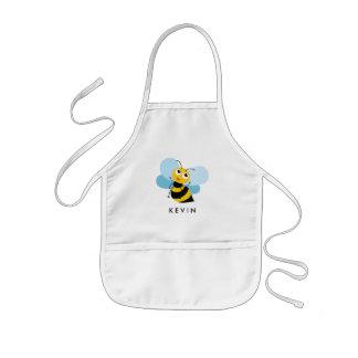 Cute Little BEE Personalized Kids Apron