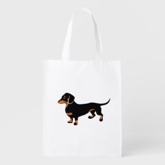 Cute Little Black and Tan Dachshund - Doxie Dog