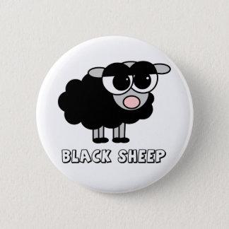 Cute Little Black Sheep 6 Cm Round Badge