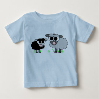 Cute Little Black Sheep & Big Gray Sheep Shirt