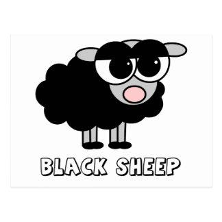 Cute Little Black Sheep Postcard