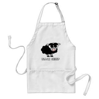 Cute Little Black Sheep Standard Apron