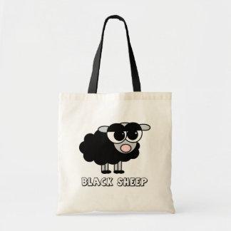 Cute Little Black Sheep Budget Tote Bag