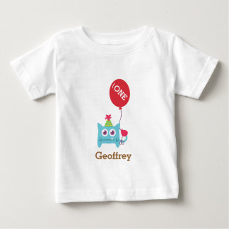 Cute Little Blue Monster, For Babies Baby T-Shirt