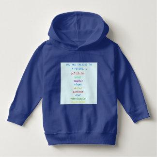 Cute little boy hoodie for a future...