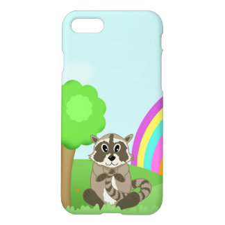 Cute Little Cartoon Animal Ricardo Raccoon iPhone 7 Case