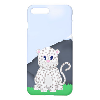 Cute little Cartoon Snow Baby Leopard iPhone 7 Plus Case