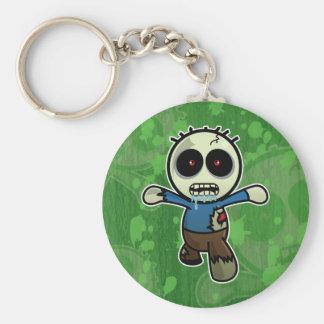 Cute Little Cartoon Zombie Key Ring