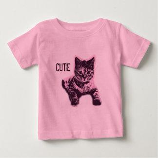 Cute Little Cat Kitten Kitty Pet Baby T-Shirt